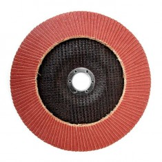 Flap disc 180 mm x 22, K120 INTERTOOL BT-0232: фото 2