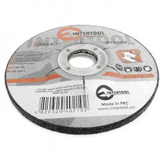 Grinding wheel for metal 115x6x22,2 mm INTERTOOL CT-4021: фото 2