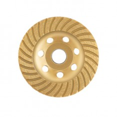 Continuous Turbo Cup Grinding Wheel 115X22,2 mm INTERTOOL CT-6215