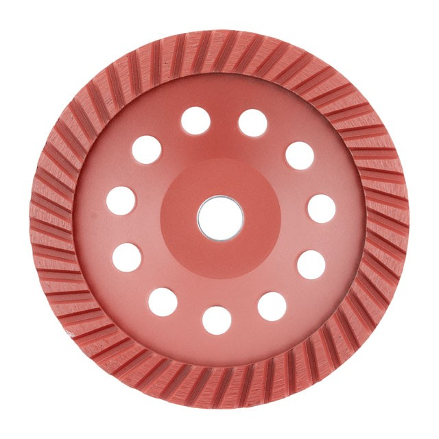 Continuous Turbo Cup Grinding Wheel 180X22,2 mm INTERTOOL CT-6280