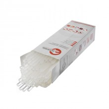 Glue sticks (transparent) 11.2 mmx300 mm, pack 2 kg INTERTOOL RT-1024