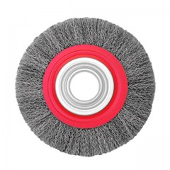 Wheel brush 150x32 mm (crimped wire) INTERTOOL BT-6150