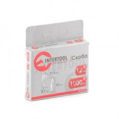 Staples 12 mm, pack 1000 pcs, width 11.3 mmxsection 0.70 mm INTERTOOL RT-0112: фото 3