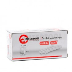 Staple 6x12.8mm (0.9x0.7mm) 5000 pcs/pack INTERTOOL PT-8006: фото 3
