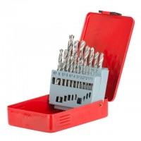Metal drills set HSS 19 pcs (1.0-10.0) INTERTOOL SD-0119