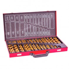 Metal drills set HSS 230 pcs INTERTOOL SD-0309