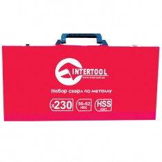 Metal drills set HSS 230 pcs INTERTOOL SD-0309: фото 2