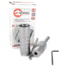 Set. Core bit 26 mm, adapter SDS Plus 100 mm INTERTOOL SD-7026: фото 6