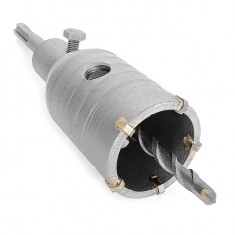 Set. Core bit 46 mm, adapter SDS Plus 100 mm INTERTOOL SD-7046: фото 3