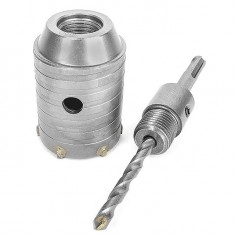 Set. Core bit 50 mm, adapter SDS Plus 100 mm INTERTOOL SD-7050: фото 4