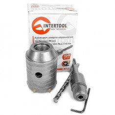 Set. Core bit 50 mm, adapter SDS Plus 100 mm INTERTOOL SD-7050: фото 6