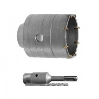 Set. Core bit 55 mm, adapter SDS Plus 100 mm INTERTOOL SD-7055