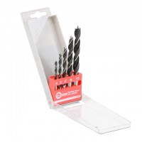 Set. Wood drills 5 pcs INTERTOOL SD-0205