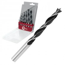 Set. Wood drills 8 pcs INTERTOOL SD-0208