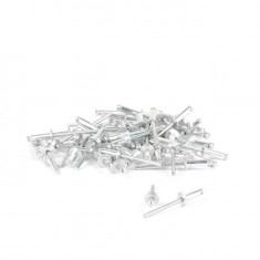Rivet, aluminium 4.0x14mm, 50pcs/pack INTERTOOL RT-4014: фото 2