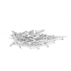 Rivet, aluminium 4.0x18mm, 50pcs/pack INTERTOOL RT-4018: фото 2