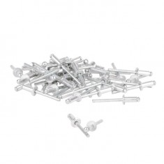 Rivet, aluminium 4.8x12mm, 50pcs/pack INTERTOOL RT-4812: фото 2