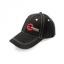 Baseball cap (black) INTERTOOL PR-0100