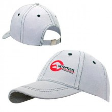 Baseball cap (grey) INTERTOOL PR-0101