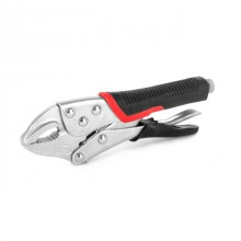 Locking pliers 180 mm, CrV INTERTOOL UT-5202