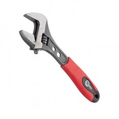 Adjustable wrench 150 mm, two-component handle INTERTOOL HT-0195