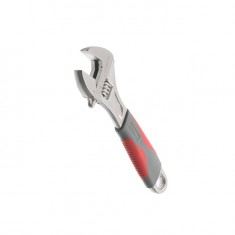 Adjustable wrench 150 mm, insulated handle, nickel coated INTERTOOL XT-0015