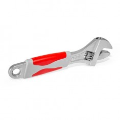 Adjustable wrench 150 mm, insulated handle, nickel coated INTERTOOL XT-0015: фото 5