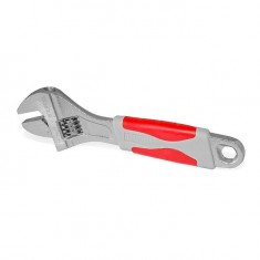 Adjustable wrench 150 mm, insulated handle, nickel coated INTERTOOL XT-0015: фото 6