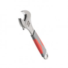 Adjustable wrench 200 mm, insulated handle, nickel coated INTERTOOL XT-0020