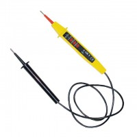 Voltage tester, double-pole, 220-380 V, 750 mm wire INTERTOOL VT-4005