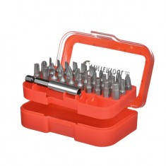 Screwdriver bits set 9 pcs INTERTOOL VT-0109