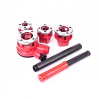 "4 pcs dies set 1/2""; 3/4""; 1""; 1 1/4"" INTERTOOL SD-8004"