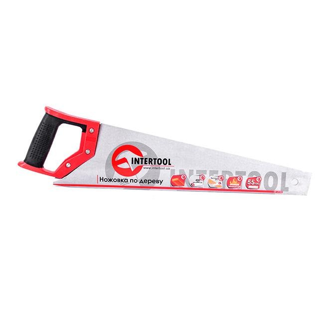 Hand saw 450 mm, 55 HRC INTERTOOL HT-3102