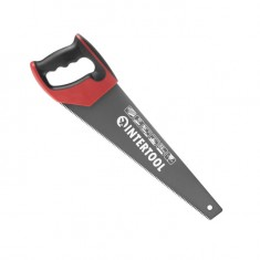 Hand saw, Teflon blade coating, 400 mm INTERTOOL HT-3107