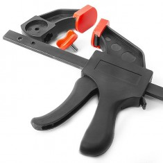 Trigger clamp 200x60 mm INTERTOOL HT-6022: фото 11