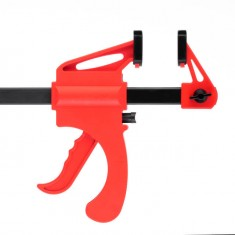 Trigger clamp 200x60 mm INTERTOOL HT-6022: фото 2
