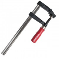 F clamp 200x50 mm rubberised handle INTERTOOL HT-6001