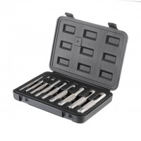 Hole punch set, 9 pcs, 3-12 mm INTERTOOL HT-0239
