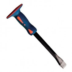 Flat chisel fiberglass/TPR handle 250x16x23 mm INTERTOOL UT-3125