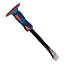 Flat chisel fiberglass/TPR handle 400x19x25 mm INTERTOOL UT-3140