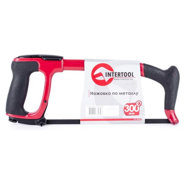 Hacksaw 300 mm rubberrised handle INTERTOOL HT-3306