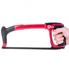 Hacksaw 300 mm rubberrised handle INTERTOOL HT-3306: фото 2