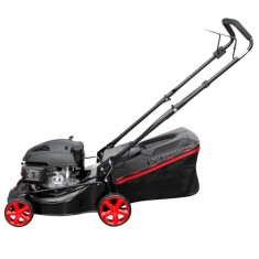 Gasoline lawn mower 4,5 HP, 3,4 kW, cutting width 400 mm INTERTOOL LM-4540: фото 2