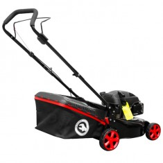 Gasoline lawn mower 4,5 HP, 3,4 kW, cutting width 400 mm INTERTOOL LM-4540: фото 5