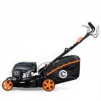 Gasoline lawn mower 6,0 HP, 4,5 kW, cutting width 500 mm, self-propelled INTERTOOL LM-6050