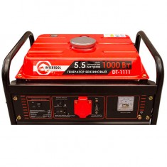 Gasoline generator max power 1.2 kW, rated power 1.1 kW, 3.0 Hp, 4 stroke, manual start, 26.5 kg INTERTOOL DT-1111: фото 5