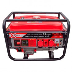 Gasoline generator max power 2.4 kW, rated power 2.2 kW, 5.5 Hp, 4 stroke, manual start, 40.7 kg INTERTOOL DT-1122: фото 2