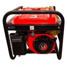 Gasoline generator max power 2.4 kW, rated power 2.2 kW, 5.5 Hp, 4 stroke, manual start, 40.7 kg INTERTOOL DT-1122: фото 3