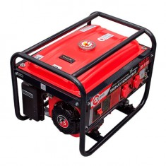Gasoline generator max power 2.4 kW, rated power 2.2 kW, 5.5 Hp, 4 stroke, manual start, 40.7 kg INTERTOOL DT-1122: фото 4