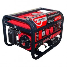 Gasoline generator max power 3.1 kW, rated power 2.8 kW, 6.5 Hp, 4 stroke, manual and power start, 51.7 kg INTERTOOL DT-1128: фото 3